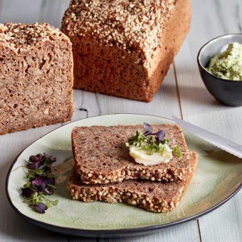 Bio glutenfreies Haferbrot Produktfoto